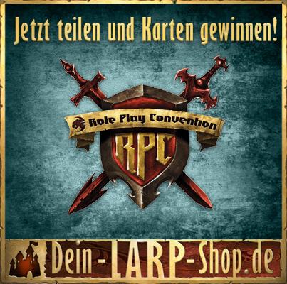 Ankündigung Gewinnspiel bei Facebook | Dein Larp Shop