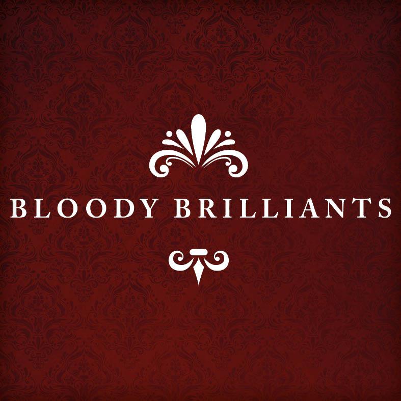 Logo-Gestaltung mit Anwendung für Visitenkarte | Bloody Brilliants