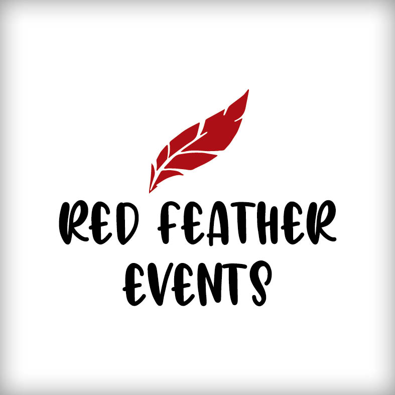 Logo-Relaunch |  Red Feather Events