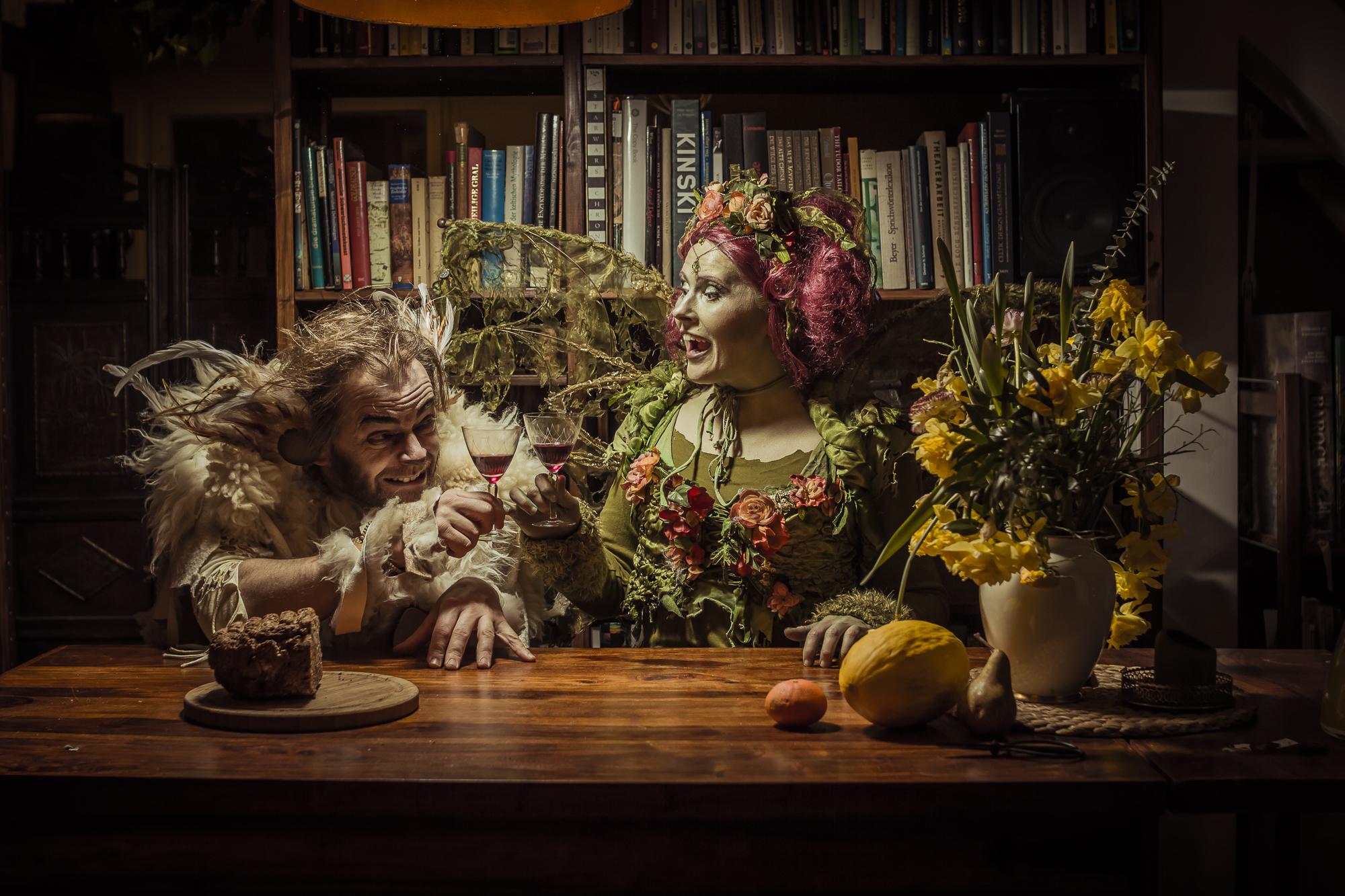 Promoshooting | Kostüme und Make Up | Hammerflausch | Gero Bergmann | Selbstportrait