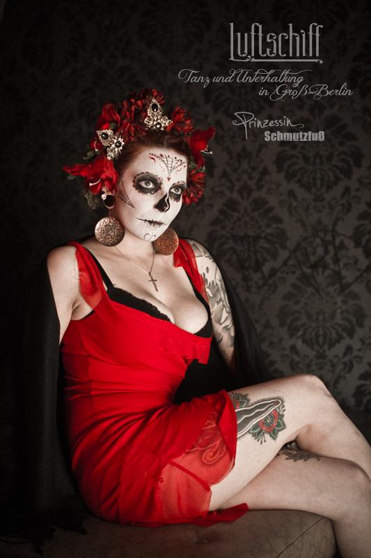 Eventfotografie | Make-Up und Styling | Luftschiff Goth United | Laura