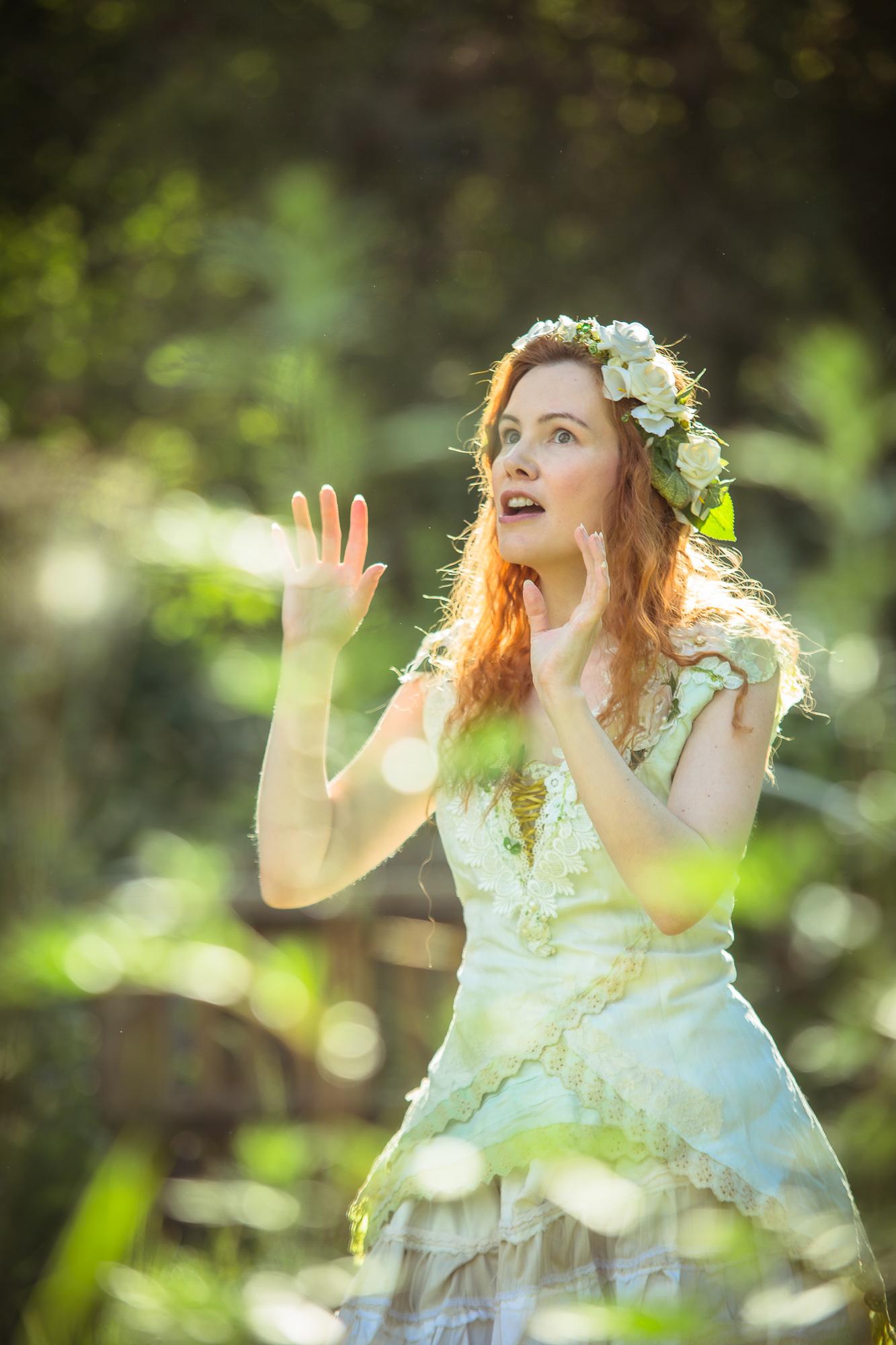 Promoshooting | Kostüm und Blumenkranz | Rumpelmärchen | Petra Feilen