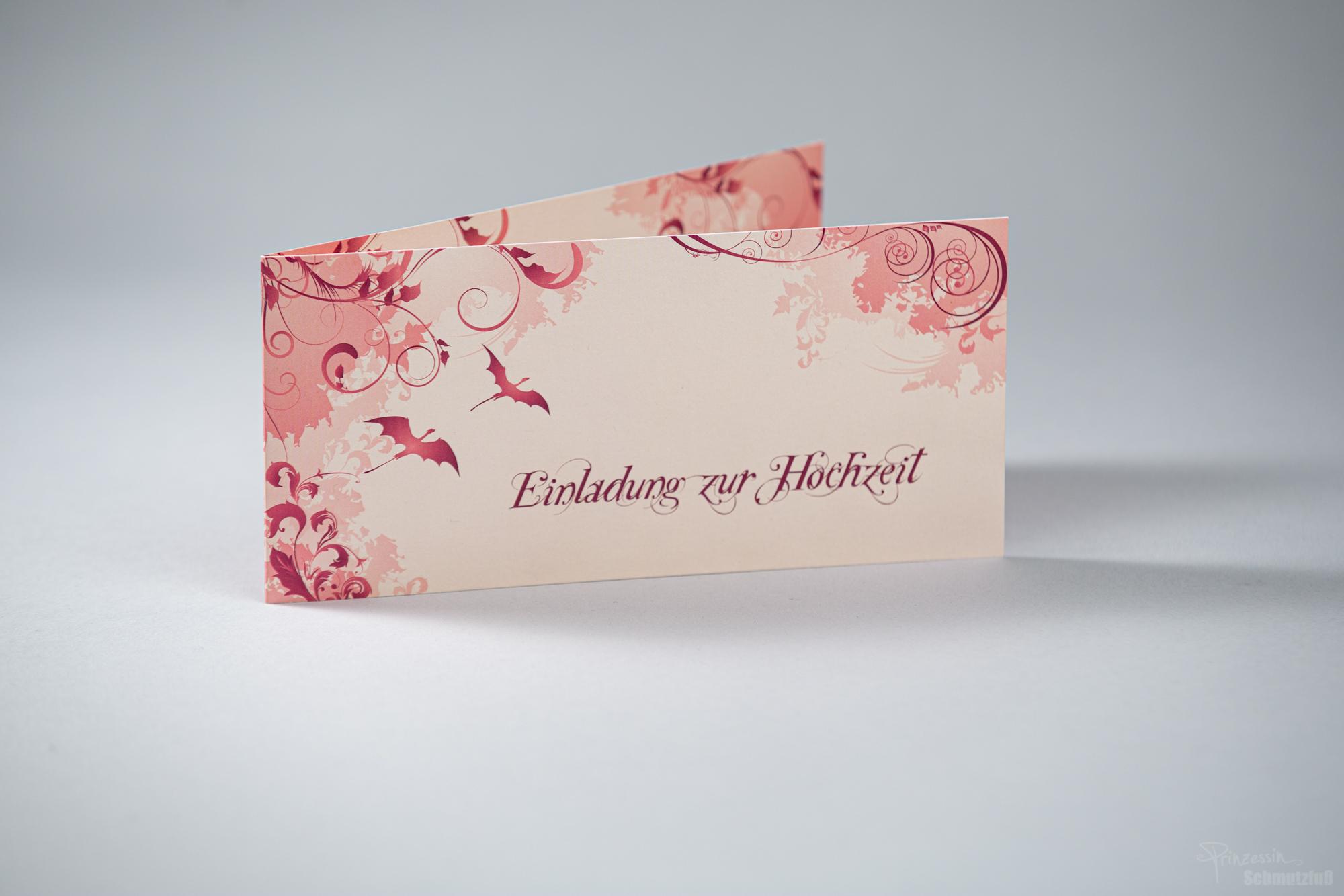 Layout Hochzeitseinladung | privat