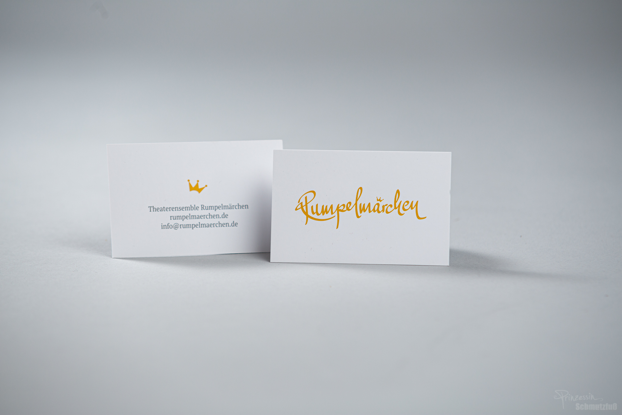 Layout Visitenkarte | Logogestaltung | Rumpelmärchen