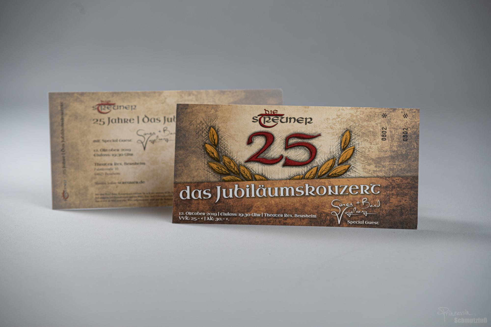 Tickets Jubiläumskonzert | Die Streuner 25 Jahre