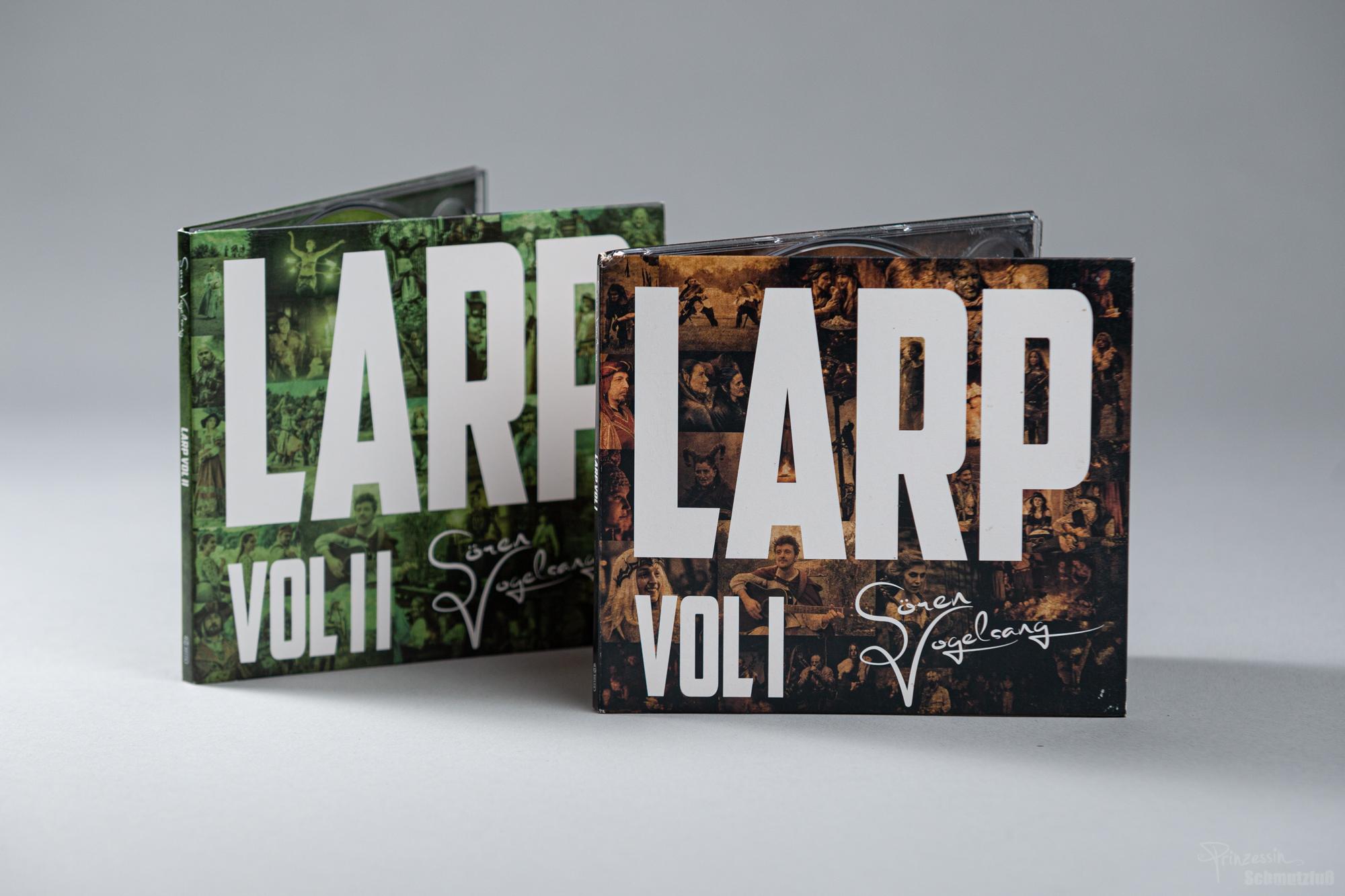CD-Gestaltung | Fortführung als Serie | Sören Vogelsang LARP