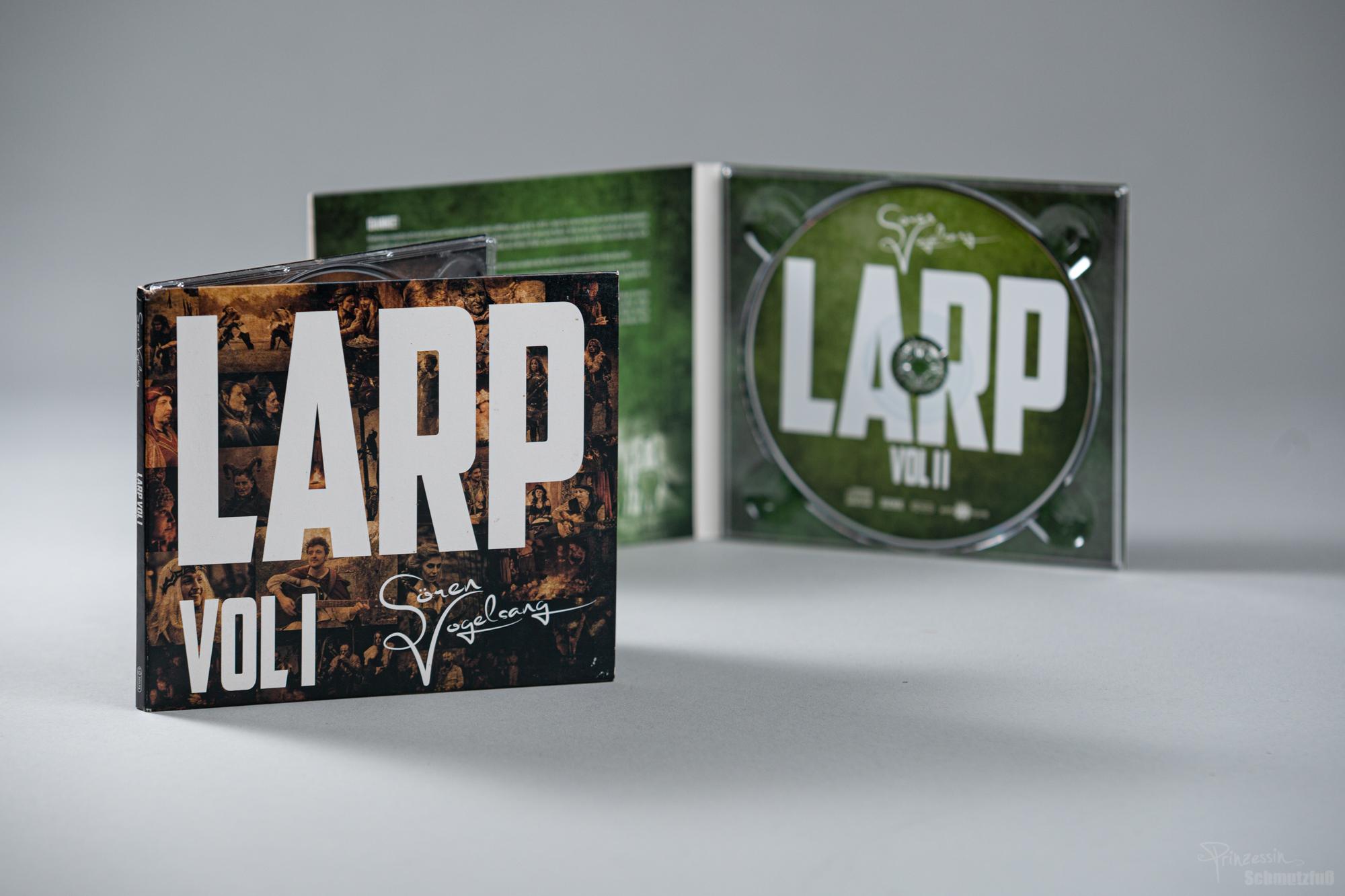CD-Gestaltung | Sören Vogelsang LARP