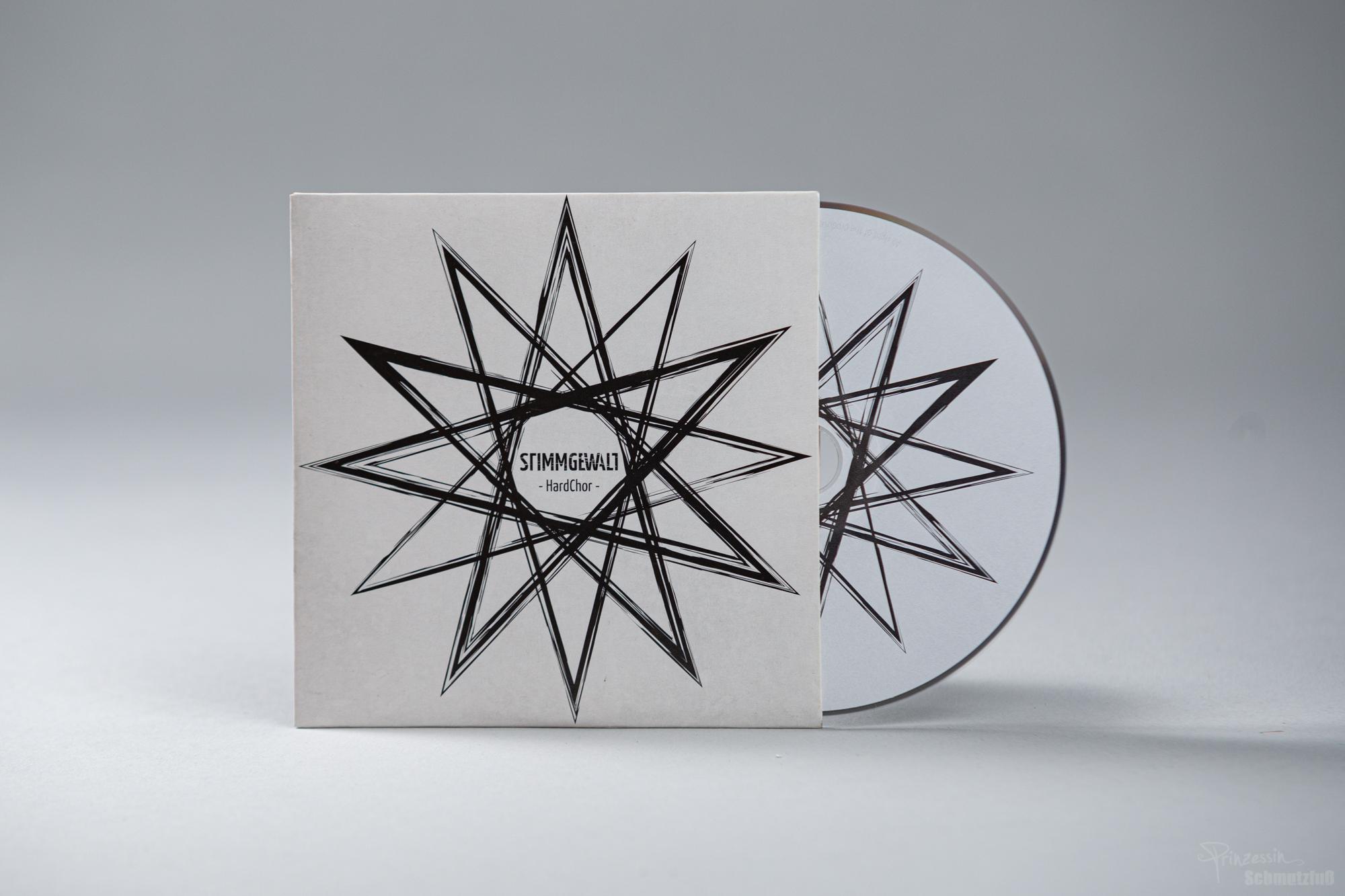 CD-Gestaltung | Logogestaltung | Stimmgewalt HardChor