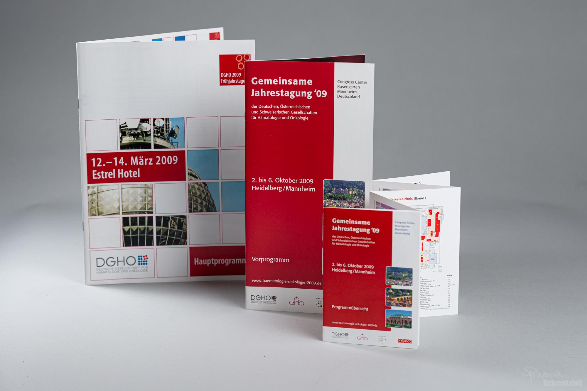 Layout | Textsatz | Veranstaltungsankündigung und Programm unter Verwendung eines bestehenden CD | Anstellung bei da vinci design